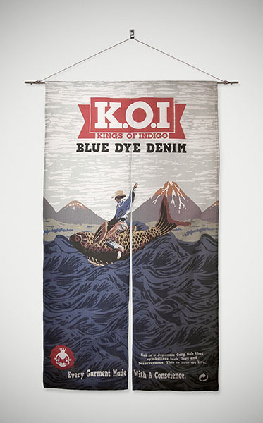 KOI BRAND COMMUNICATION INSTORE BANNER