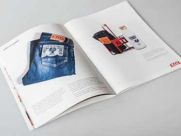 KOI BRAND COMMUNICATION BROCHURE DESIGN